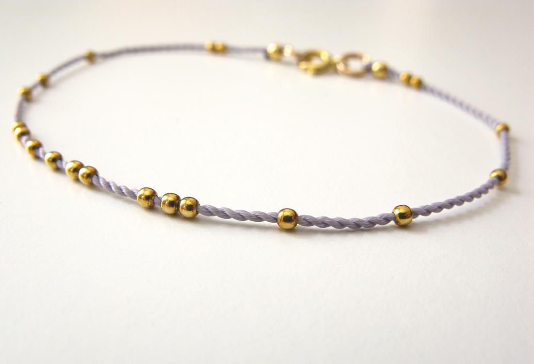 Armband Dots Gold