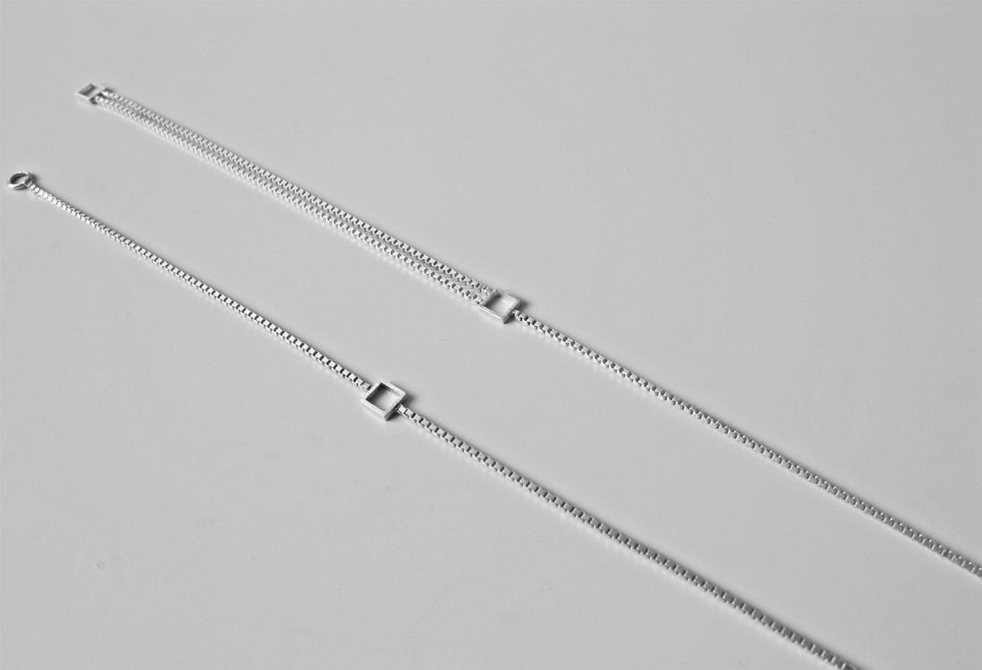 Juwelen Armbänder Silber