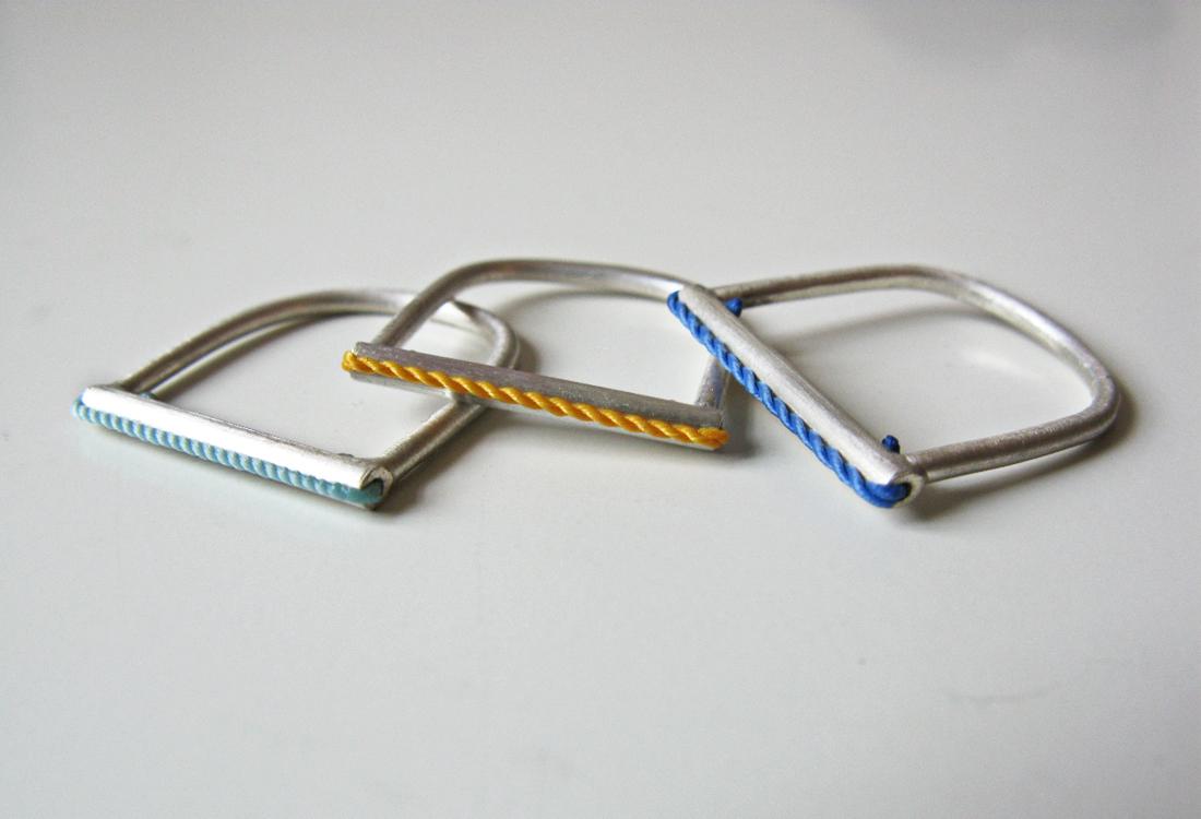 Seilschafts Ringe Silber