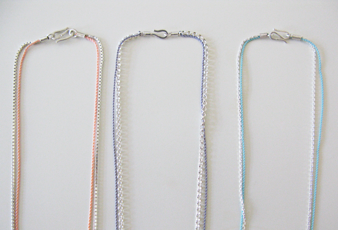 Seilschaft Ketten Silber