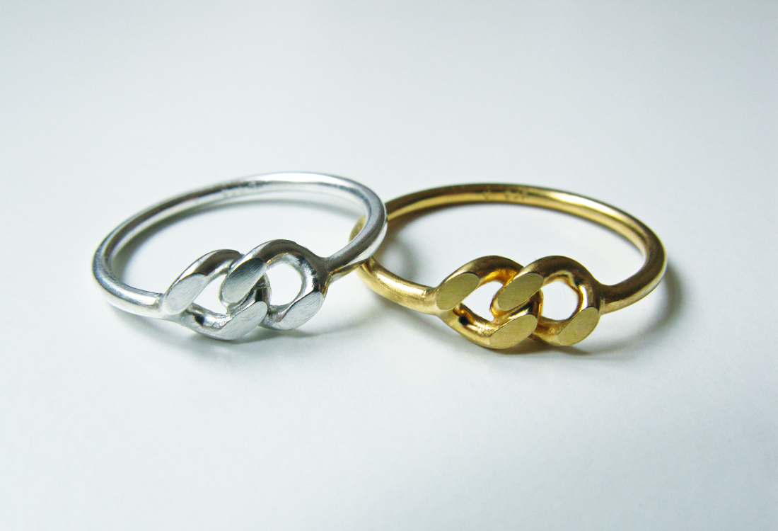 Two of a Kind Ringe Gold und Silber